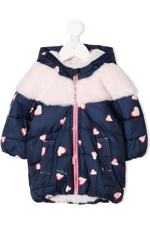 The Marc Jacobs Kids Heart-print padded coat