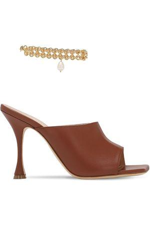 MAGDA BUTRYM 80mm Leather Sandals