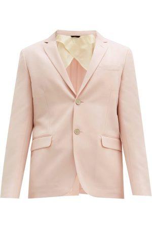 Fendi Men Suits - Wool-blend Cavalry-twill Suit Jacket - Mens