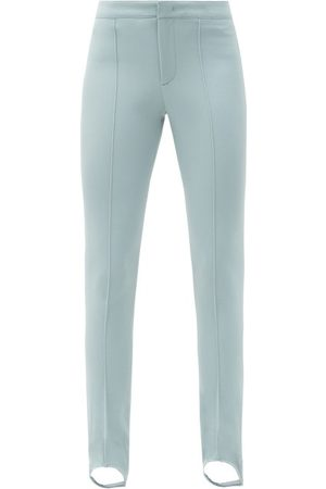 Moncler Stirrup Skinny-fit Ski Trousers - Womens - Light