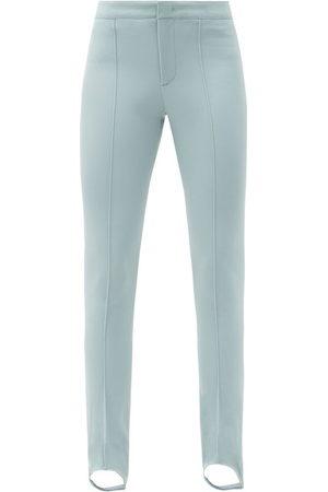 Moncler Women Skinny Pants - Stirrup Slim-leg Ski Trousers - Womens - Light