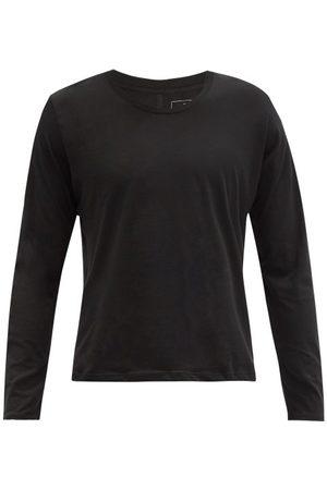 Lahgo Men Long Sleeve - Organic Pima-cotton Long-sleeved T-shirt - Mens