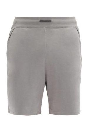 Lahgo Men Pajamas - Restore Cotton-blend Pyjama Shorts - Mens - Grey