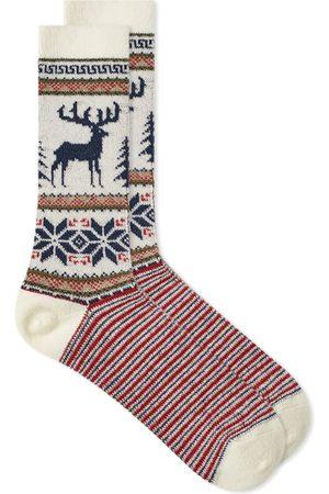 ANONYMOUS ISM Men Socks - Wool Deer Crew Sock