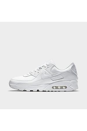 Nike Men's Air Max 90 Leather Casual Shoes in Size 8.0