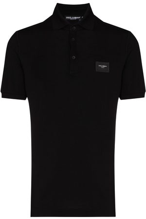 Dolce & Gabbana Logo plaque polo shirt
