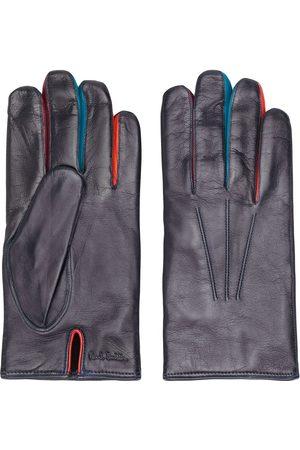 Paul Smith Contrasting finger gloves