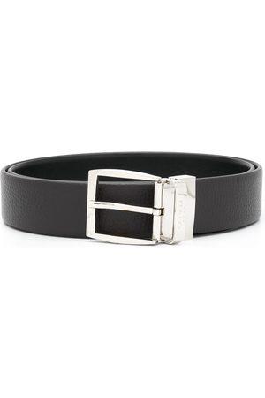 CANALI Men Belts - Logo buckle belt