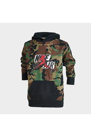 Nike Jordan Boys' Jumpman Classics Mashup Logo Camo Hoodie in Size Small Cotton/Polyester/Fleece