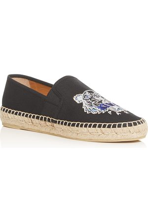 Kenzo Women Espadrilles - Women's Tiger Embroidered Espadrille Flats