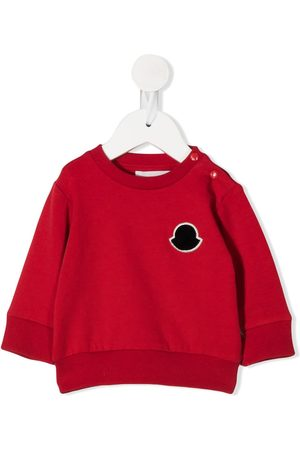 Moncler Hoodies - Logo patch sweatshirt