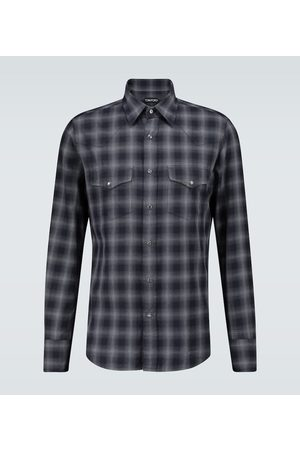 Tom Ford Checked cotton shirt