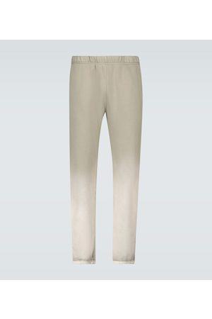 Les Tien Cotton jersey trackpants