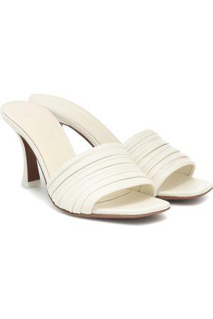 Neous Sham leather sandals