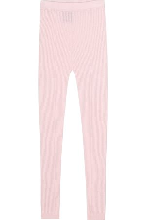 Loro Piana Ribbed-knit cashmere leggings