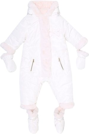 Tartine Et Chocolat Baby reversible puffer snowsuit