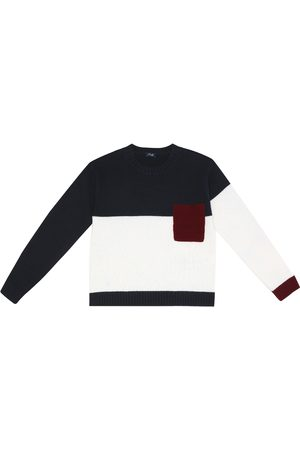 Il gufo Colorblocked wool sweater