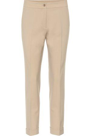 Etro Mid-rise stretch-wool skinny pants