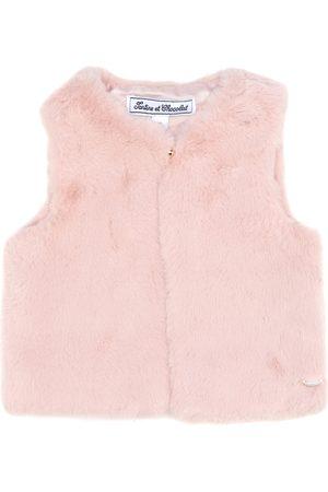 Tartine Et Chocolat Faux fur vest