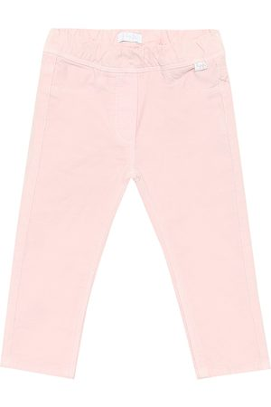 Il gufo Baby stretch-cotton pants