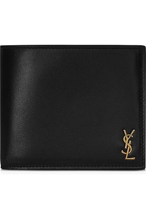 Saint Laurent Men Wallets - Monogram Bi Fold Wallet
