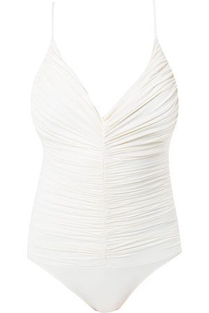 CLUBE BOSSA Chalou draped swimsuit - Neutrals