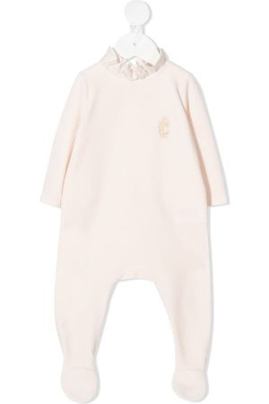 Chloé Rompers - Logo embroidered bodysuit