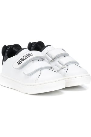 Moschino Teddy Bear-patch low-top sneakers