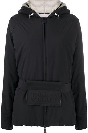 Moncler Logo belt padded jacket