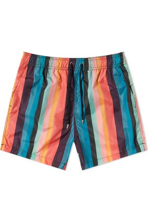 Paul Smith Classic Artist Stripe Swim Short