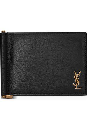 Saint Laurent Portadoll (181Y)T Monogram Clip Wallet