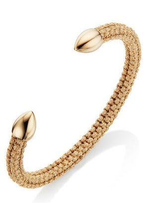 Monica Vinader Women Bracelets - Gold Fiji Bud Friendship Cuff