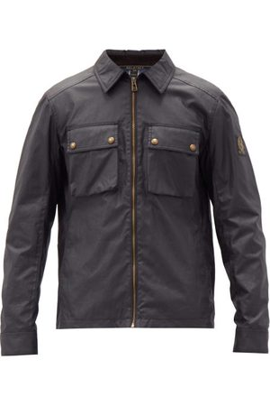 Belstaff Dunstall Waxed-cotton Jacket - Mens
