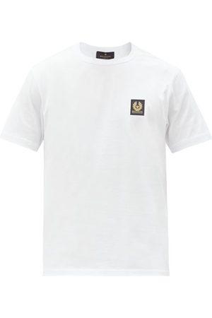 Belstaff Logo-patch Cotton-jersey T-shirt - Mens