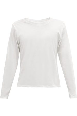 Lahgo Organic Pima-cotton Long-sleeved T-shirt - Mens