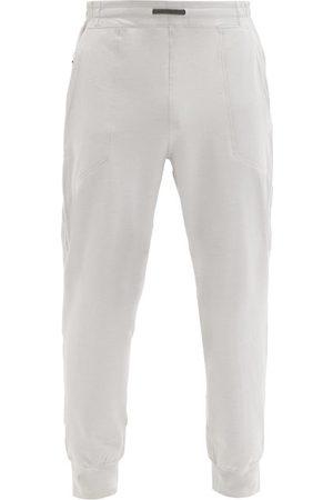 Lahgo Restore Cotton-blend Jersey Track Pants - Mens - Grey