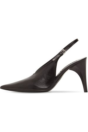 Jil Sander 95mm Leather Sling Back Pumps