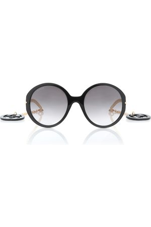 Gucci GG oversized round sunglasses