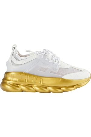 VERSACE Shiny Chain Reaction sneakers