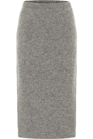 Dorothee Schumacher Soft Flash alpaca-blend knit midi skirt