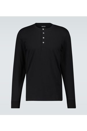 Tom Ford Long-sleeved Henley T-shirt