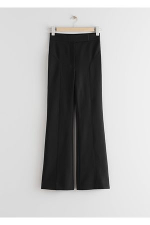 & OTHER STORIES Flared Cutline Trousers
