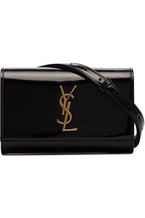 Saint Laurent Kate patent belt bag