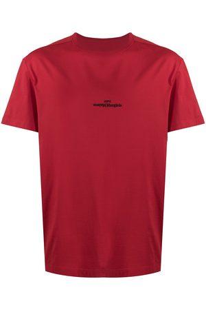 Maison Margiela Inverted embroidered logo T-shirt