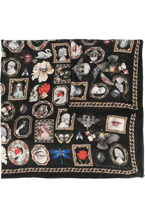 Alexander McQueen Motif print scarf