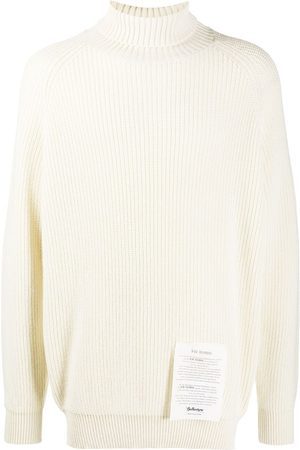 BALLANTYNE Roll-neck cashmere jumper - Neutrals