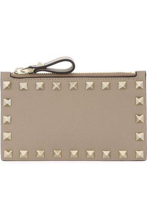 VALENTINO GARAVANI Women Wallets - Rockstud coin purse - Neutrals