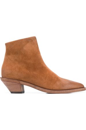 MARSÈLL Pointed toe ankle boots - Neutrals