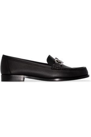 Salvatore Ferragamo Women Loafers - Polo leather loafers