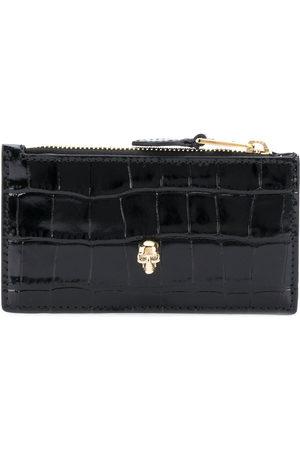 Alexander McQueen Skull flat zip purse